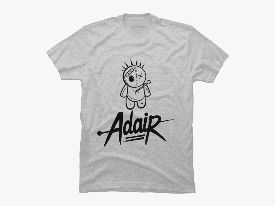 Adair Voodoo Doll And Font Logo.