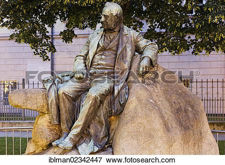 "Picture of ""Monument to Adalbert Stifter, Promenade, Linz, Upper."