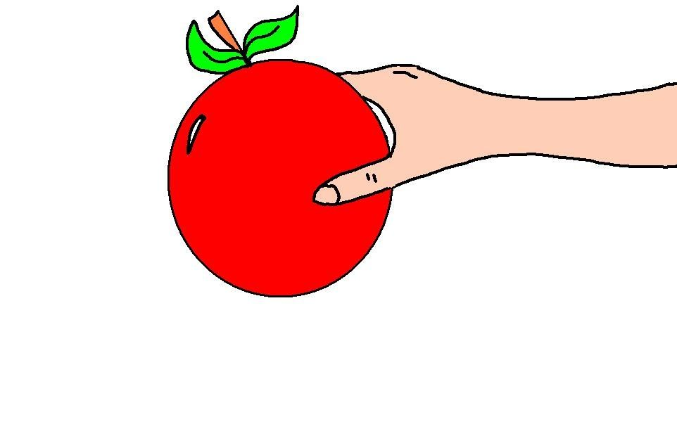 Adam and Eve Cliaprt Eve Holding Apple Clipart Picture in.