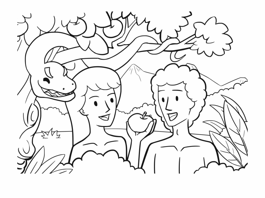 Adam And Eve Clip Art.