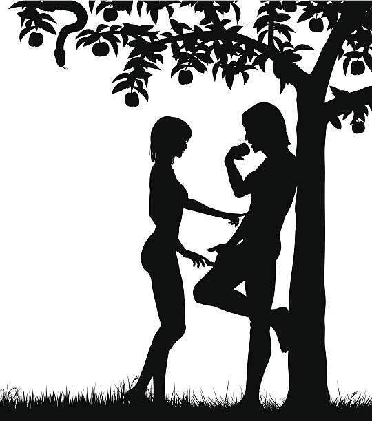 Best Adam And Eve Illustrations, Royalty.