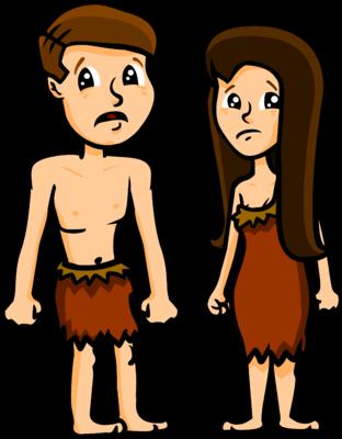 Image: Adam and Eve Fallen.