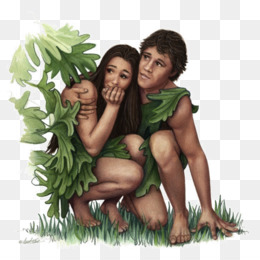 Adam And Eve PNG.