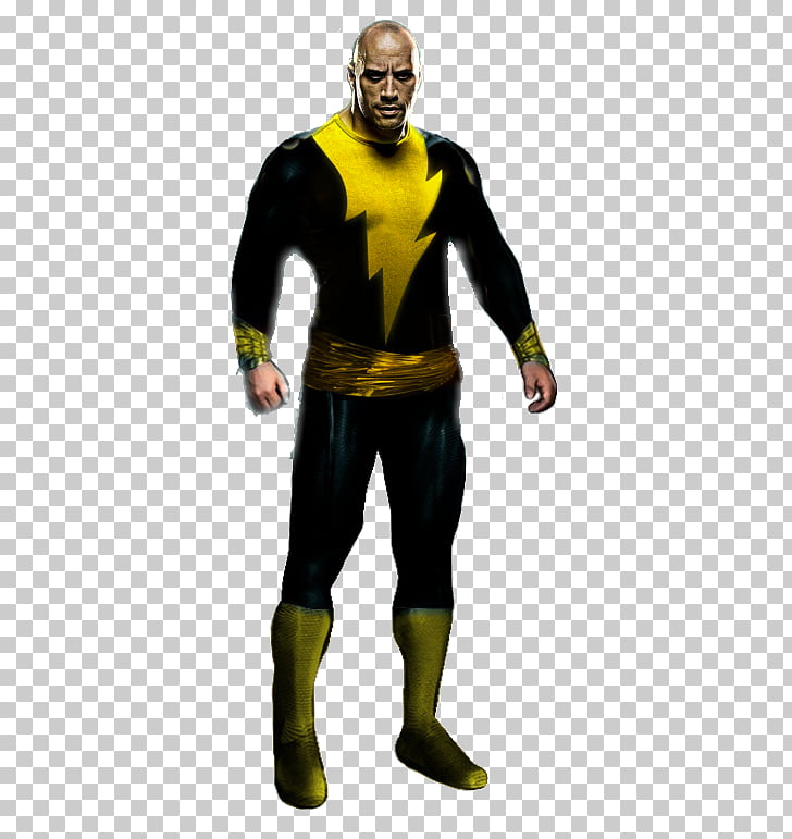 Dwayne Johnson Black Adam Shazam! Lex Luthor Comics, Black.