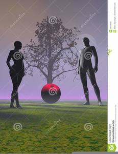 Adam And Eve Apple Clipart.