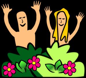 Adam & Eve Clip Art at Clker.com.
