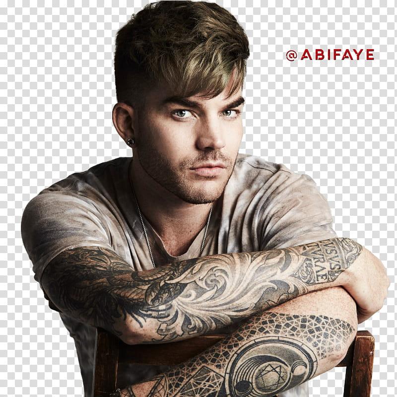 Adam Lambert transparent background PNG clipart.