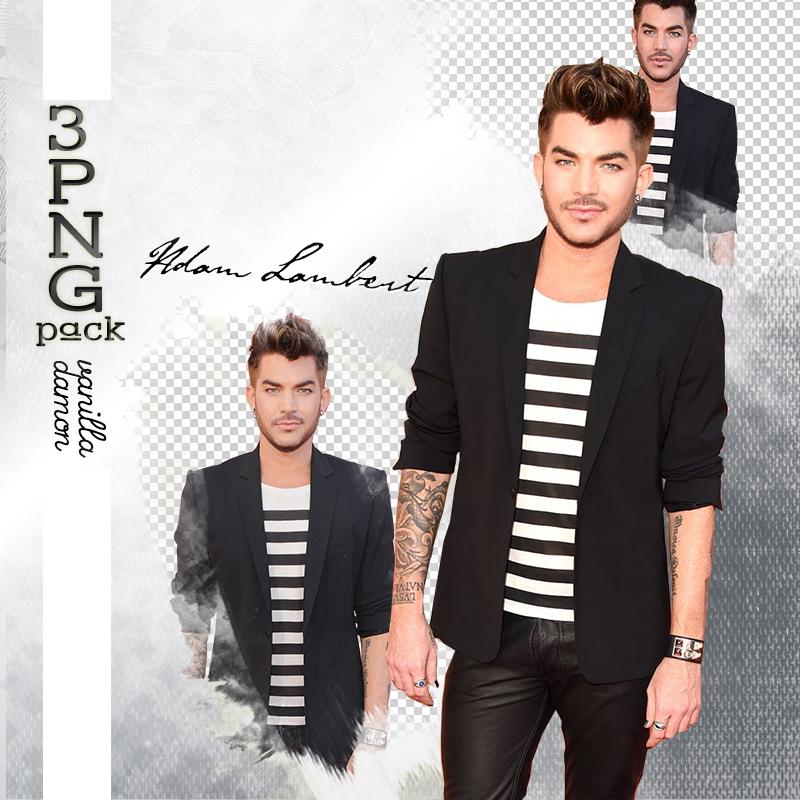 Adam Lambert PNG Pack (5) by VanillaDamon on DeviantArt.