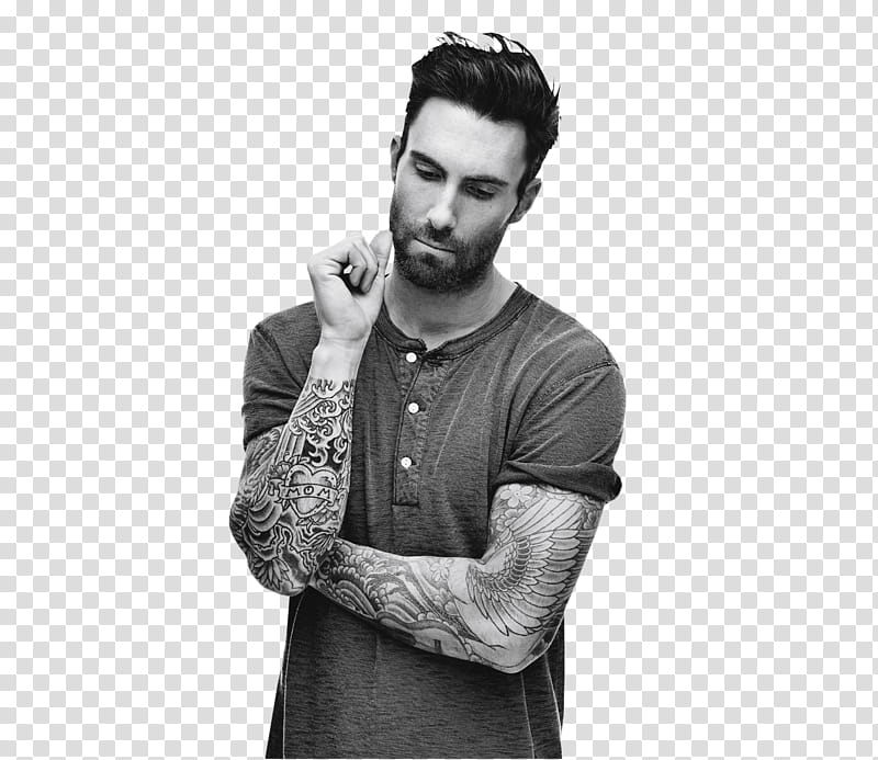 Adam Levine , _~ transparent background PNG clipart.