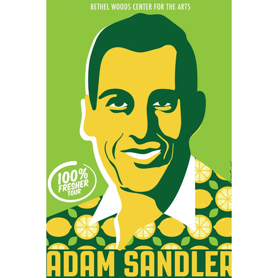 Adam Sandler Concert Poster 2019.