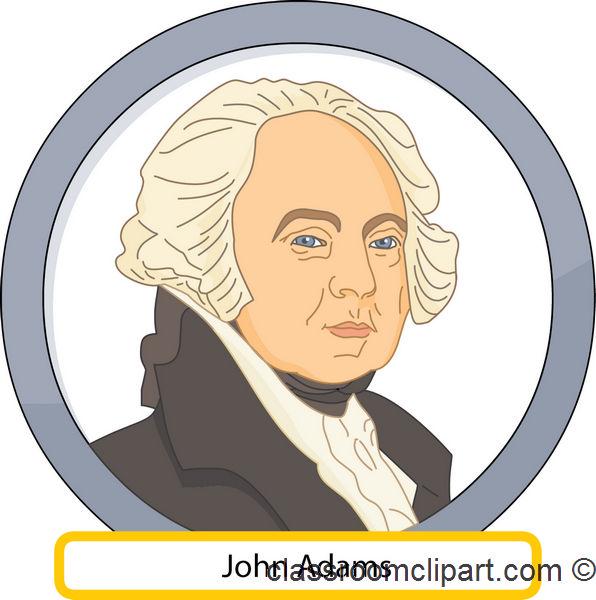 John adams clipart.