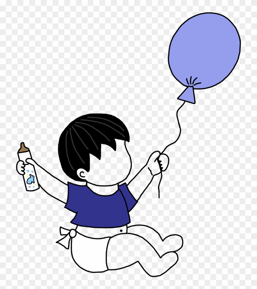 Adoption Announcements Baby Boy With Balloons Mandys.
