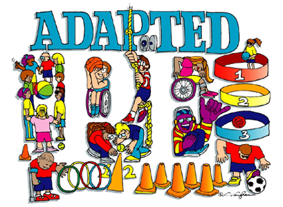 Adapted Physical Education Clipart.