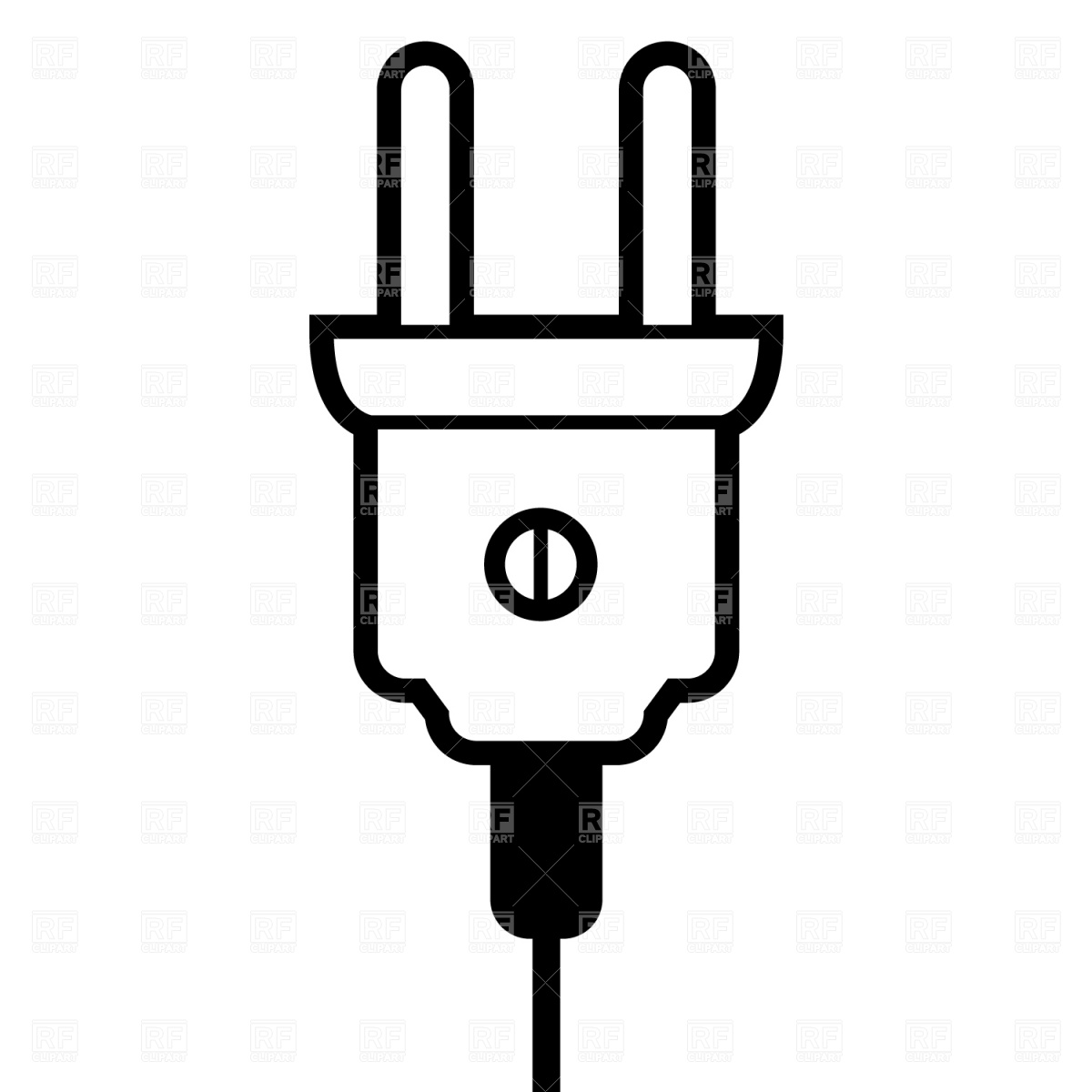Plug Clipart.