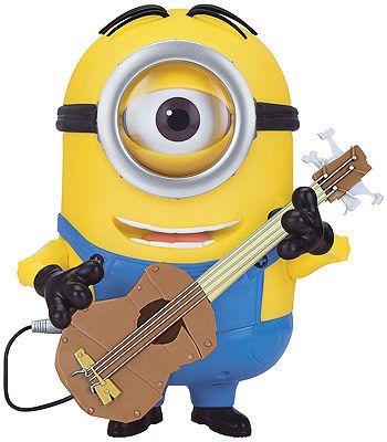 Animated Minion Stuart with Guitar!.