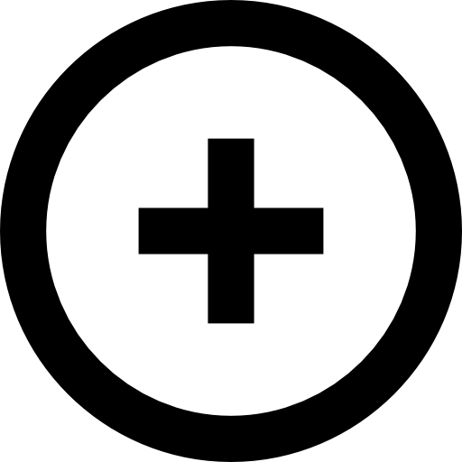 Round add button.