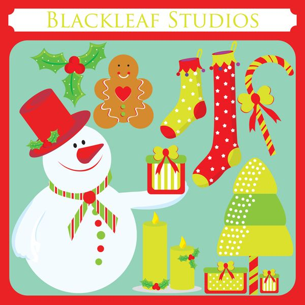 This charming Festive and Traditional Christmas Clipart Set is sure.