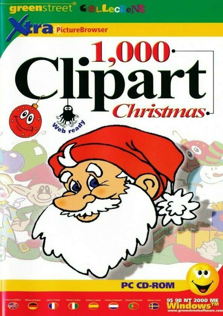 Details about 1000 Christmas Clipart Clip Art Images.