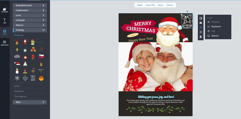Design Creative Christmas Cards to Wow Friends and Family.