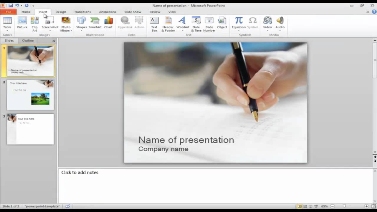 How to add photos and clipart to your PowerPoint presentation.