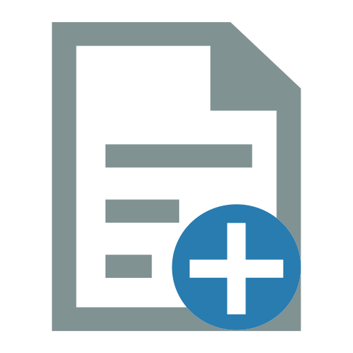 Add File, Add Folder, Create Folder Icon With PNG and Vector Format.
