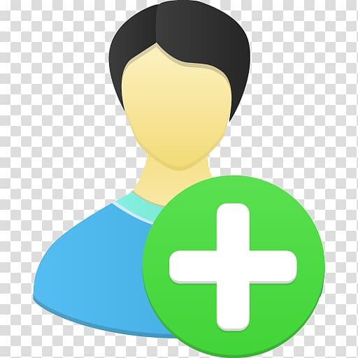 Green and white cross illustration, human behavior symbol yellow.