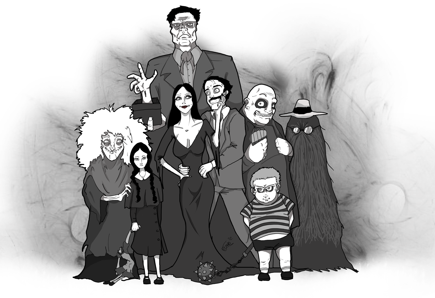 Addams Family in 2019.