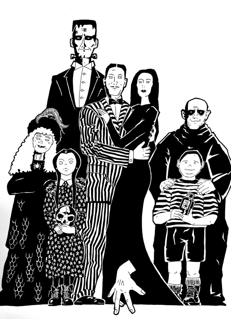 Addams family clipart 4 » Clipart Station.