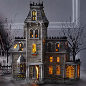 Department56 Addams Family Village House Lit Building, 10.87\