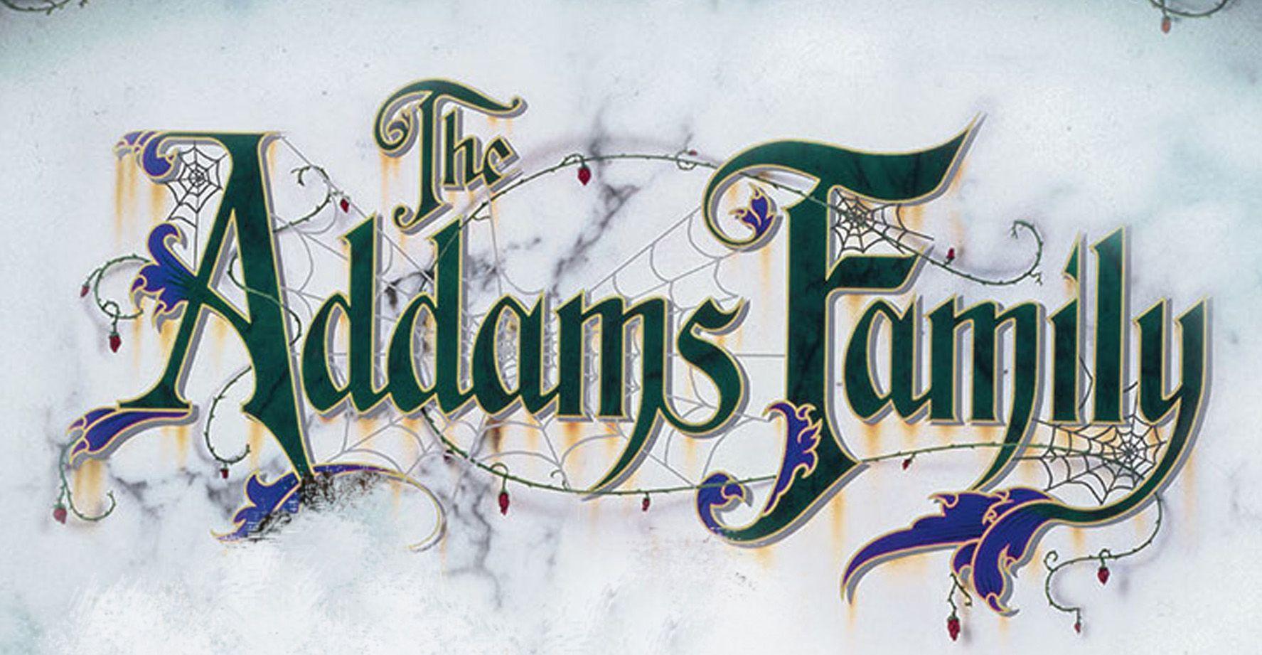 Addams Family Logo.