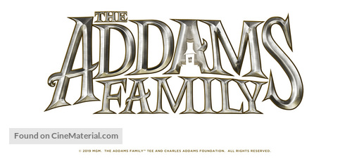 The Addams Family (2019) logo.