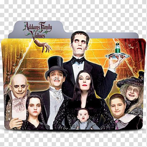 Addams Family Value Folder Icon, Addams Family Value.