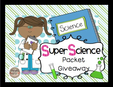 Teaching With Mrs. Hynst: Super Science Giveaway.