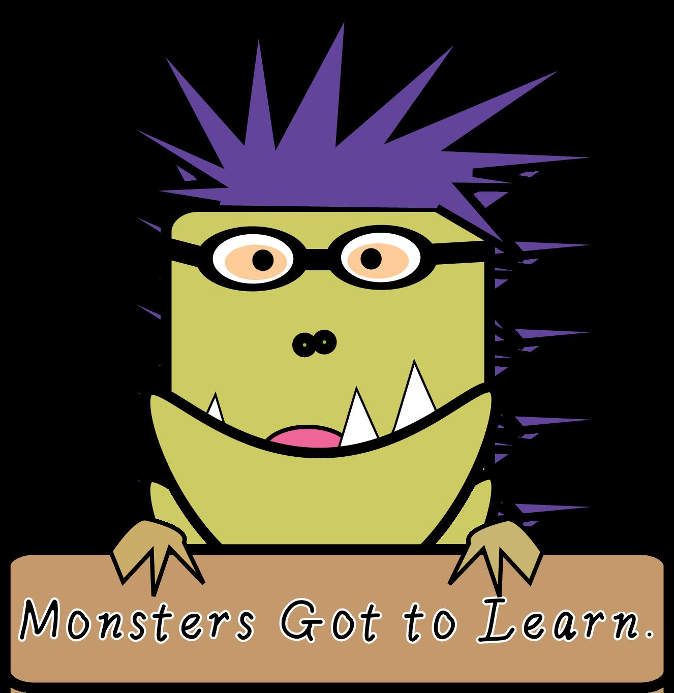 Digital: Divide Conquer: Monster Addendum: 5 Free Clip Art.