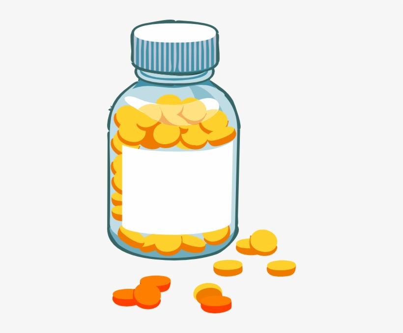 Blank Pill Bottle Clip Art At Clker.