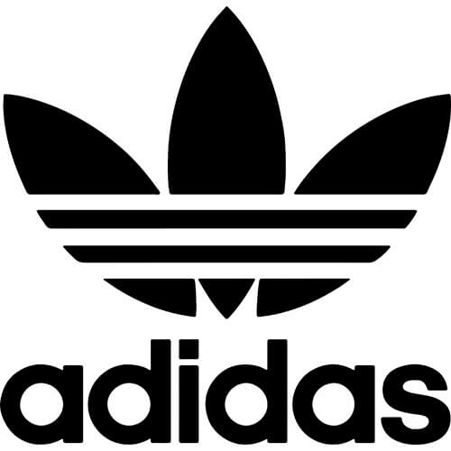 Adidas Logo Decal Sticker.