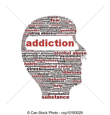 Addiction Clipart.