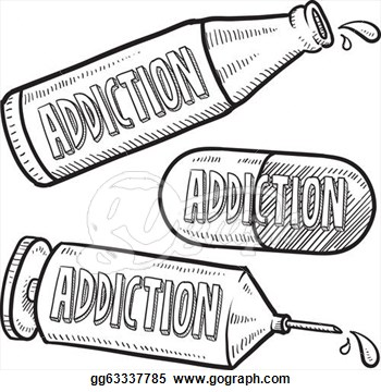 Clip Art Alcohol Addiction Clipart.