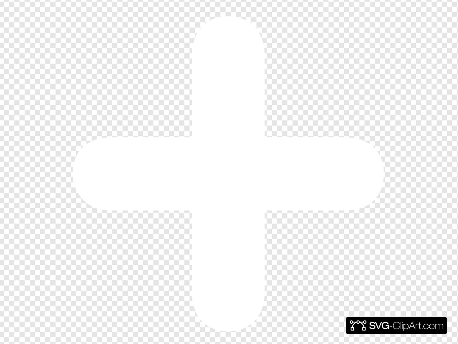 Add Button White Clip art, Icon and SVG.