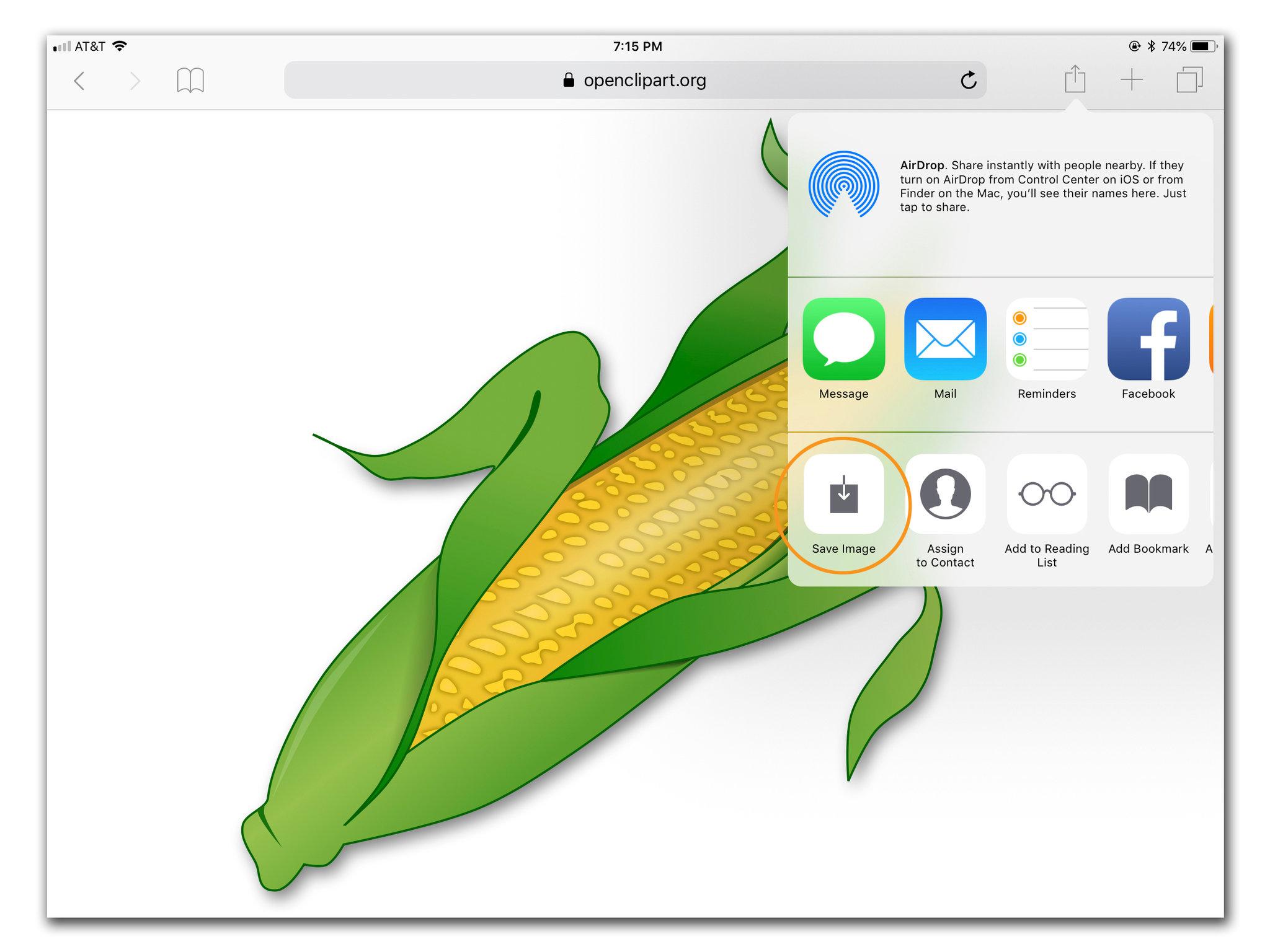 Adding Art to iPad Documents.