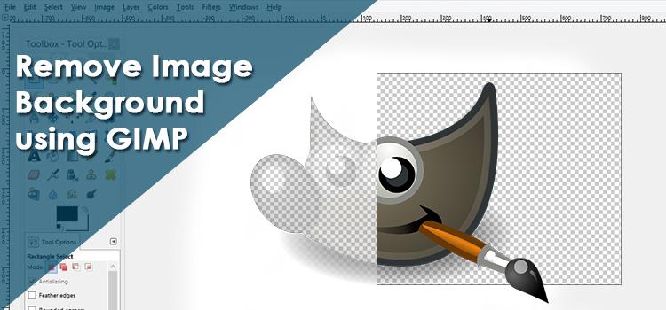 Remove Image Background using GIMP.