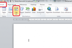 How to insert clipart in word 2010 1 » Clipart Station.