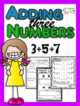 Three Addends: Three different activities for adding three.