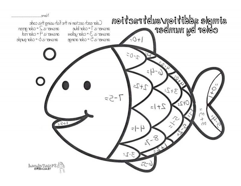Free Addition And Subtraction Coloring Pages, Download Free.