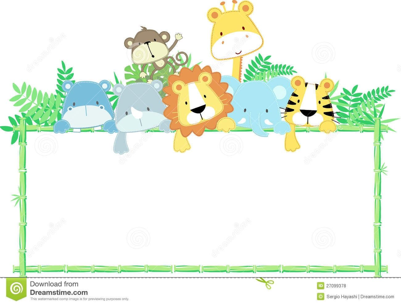 Border clipart animal, Border animal Transparent FREE for.