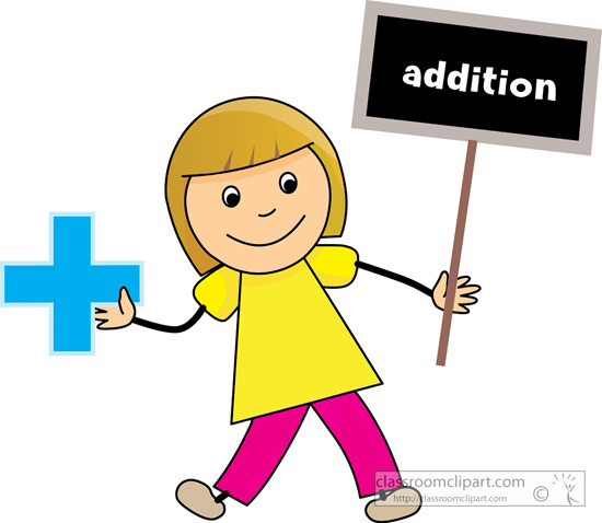 Addition Clipart.