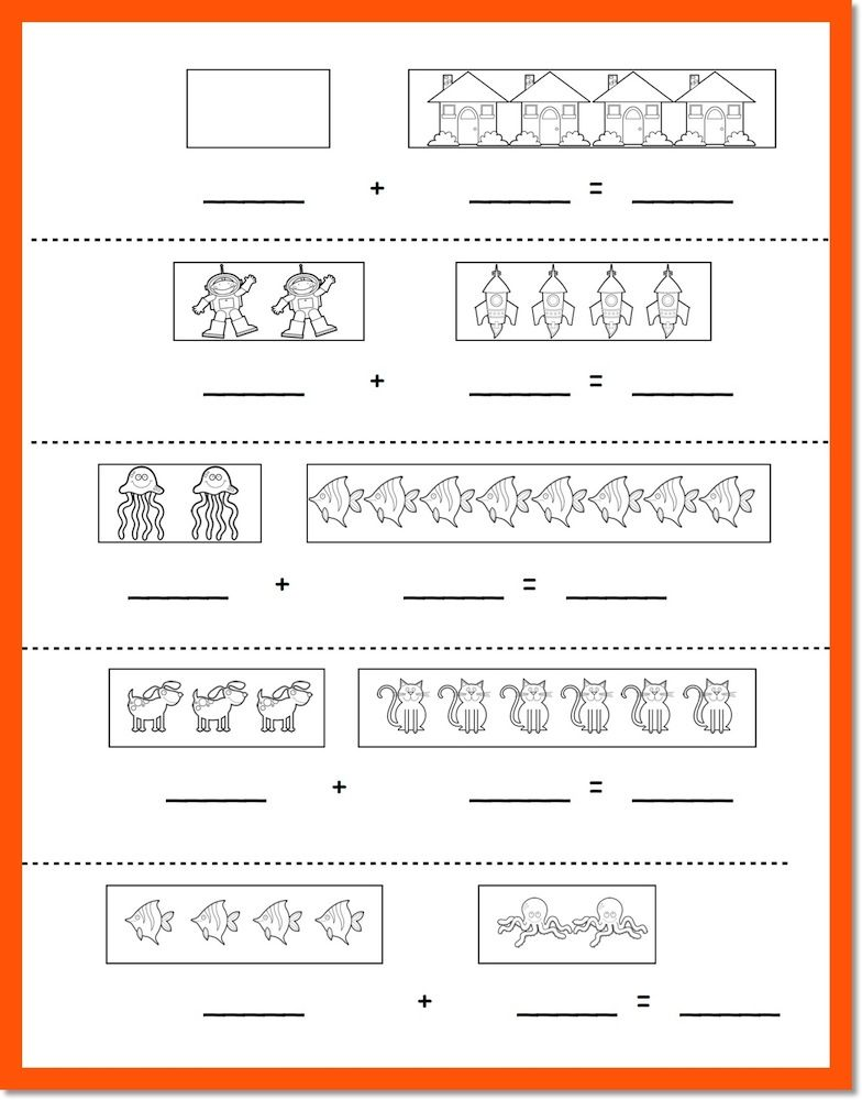 Kindergarten Addition.