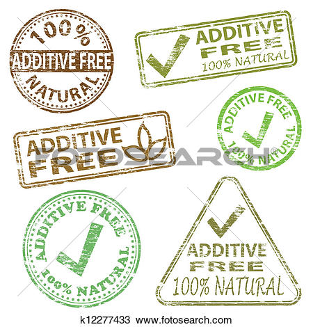 Clipart of Additive Free Stamps k12277433.