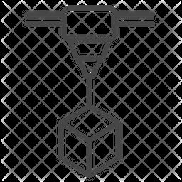 Additive manufacturing Icon.