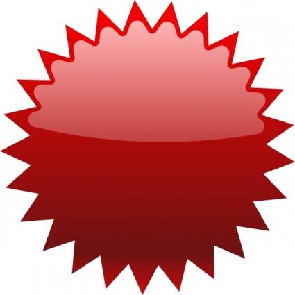 Addon Red Starfish clip art Vector clip art.